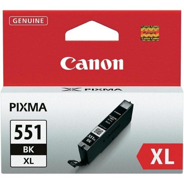 Canon CLI-551BK XL tindikassett