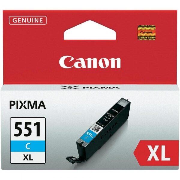 Canon CLI-551C XL tindikassett
