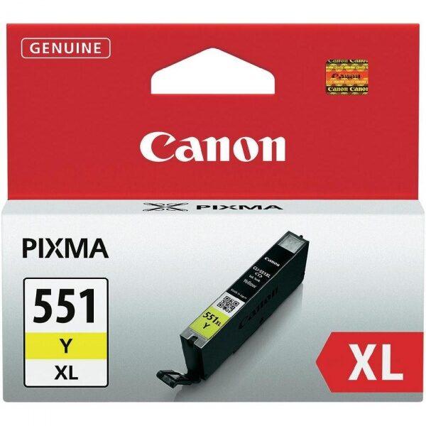 Canon CLI-551Y XL tindikassett